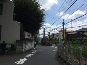 秋津駅踏切