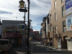 清瀬駅付近